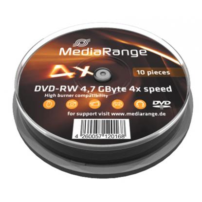Picture of DVD-RW Rewritable discs